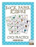 Rock, Paper, Scissors: CVCe Words {Magic Silent E}