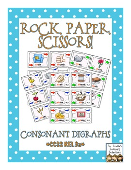 Rock, Paper, Scissors: Consonant Digraphs {ch, sh, th, ph, wh}