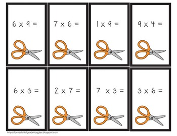 Rock, Paper, Scissors- Multiplication Game
