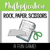Rock, Paper, Scissors- Multiplication Game