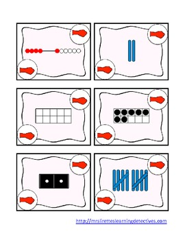 Rock, Paper, Scissors: Number Identification 0-10 {Subitizing in 5 Ways}