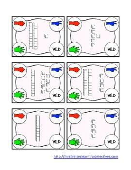 Rock, Paper, Scissors: Place Value Base Ten Blocks {Numbers 2-25}