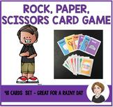 Rock, Paper, & Scissors Card Game