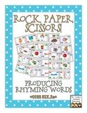 Rock, Paper, Scissors: Producing Rhyming Words