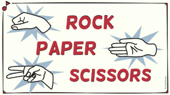 Rock, Paper, Scissors, RHYTHM! 16th Notes STICK Notation