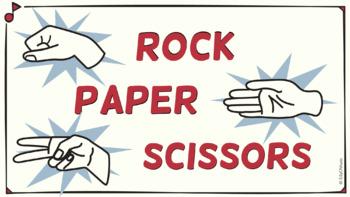 Rock, Paper, Scissors, RHYTHM! Half Note STICK Notation
