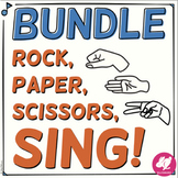 Rock, Paper, Scissors, SING! Solfege Bundle