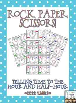 Rock, Paper, Scissors: Telling Time {Bundled}