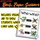 Rock, Paper, Scissors for Articulation - Set II: S, S blends, L, L blends, TH
