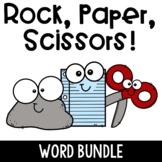 Rock, Paper, Scissors- the Word Bundle