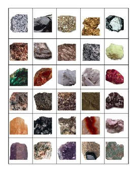Rock Pictures, Sorting Cards
