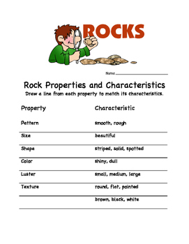 Rock Properties and Characteristics