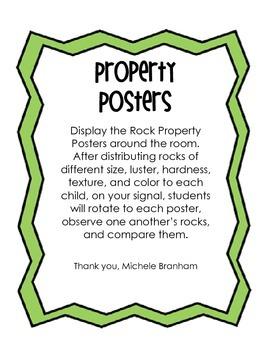 Rock Properties Activites