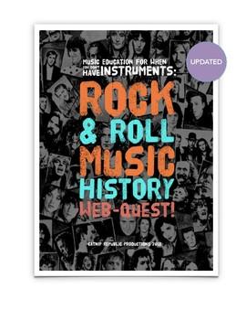 Rock & Roll History Webquest