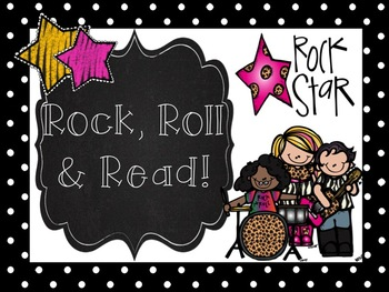 Rock, Roll & Read Poster