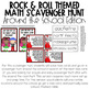 Rock & Roll Themed Math & STEM Activities