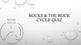 Rocks & The Rock Cycle Quiz