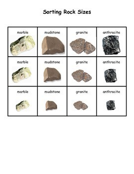 Rock Size Sorting