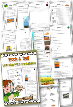 Rock & Soil – Unit Plan with Worksheets