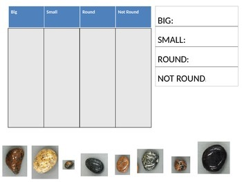 Rock Sorting PowerPoint