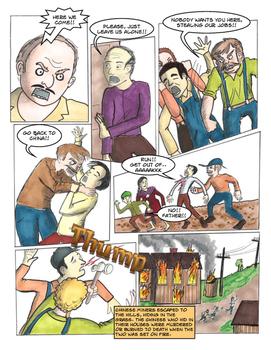 Rock Springs Massacre, Mining, Comic