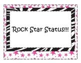 Rock Star Behavior Posters (20 total)