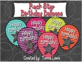 Rock Star Birthday Balloons