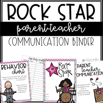 Rock Star Communication Binder