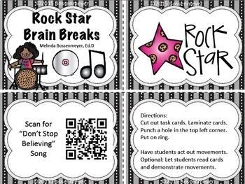 Rock Star Brain Breaks
