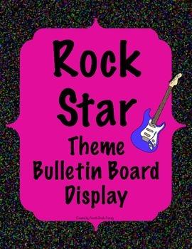 Rock Star Bulletin Board