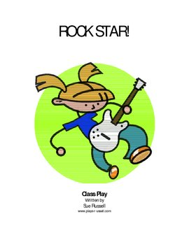 Rock Star Class Play or Assembly (based on Hannah Montana character)