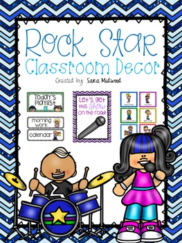 Rock Star Classroom Decor