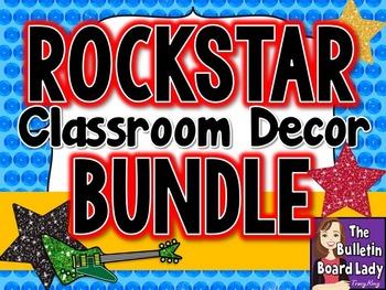 Rock Star Classroom Decor BUNDLE