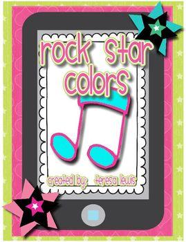 Rock Star Color Words