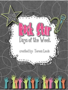 Rock Star Days of the Week