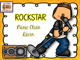 Rock Star Décor for the Music Classroom