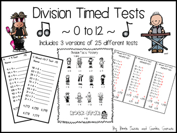 Rock Star Division Timed Tests