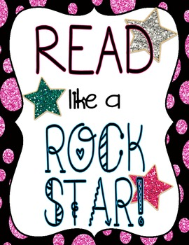 Rock Star GLAM: Inspirational Posters (FREE!)