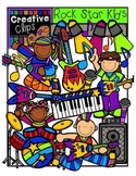 Rock Star Kids {Creative Clips Digital Clipart}