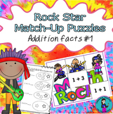 Mental Math Addition Match-Up Puzzles 1