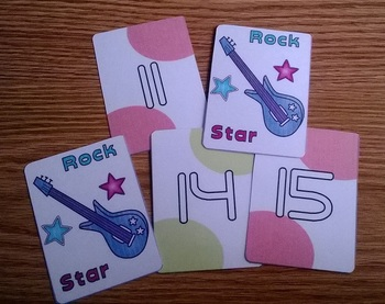 Rock Star Mental Math Playing Cards
