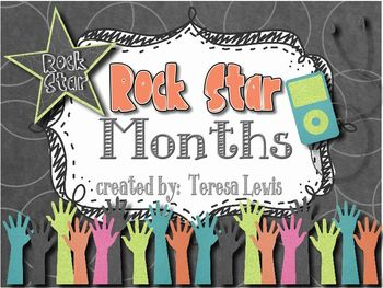 Rock Star Months of the Year