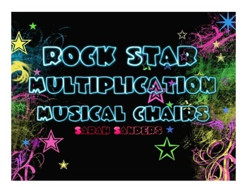 Rock Star Multiplication Musical Chairs