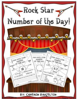 Number of the Day Bell Work: Factors, Multiples, Comparing and More