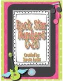 Rock Star Numbers 0-20