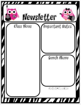 Newsletter Templates Editable Free