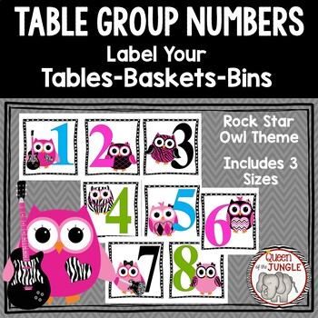 Table Group Labels