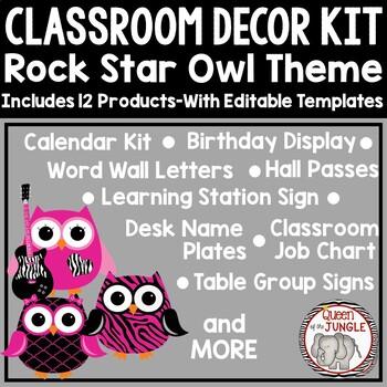 Classroom Decor Bundled Kit