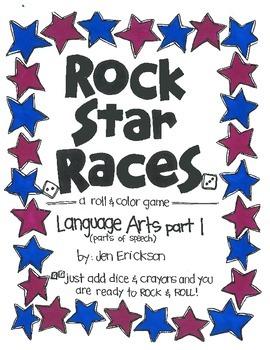 Rock Star Race:  Language Arts (part 1)
