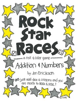 Rock Star Races:  Addition and Numbers
